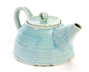 Hand-Thrown Tea Pot - tableware