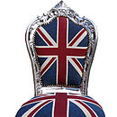 Vintage Style Union Jack French Dining Chair