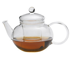 Miko Glass Teapot 600ml - kitchen accessories