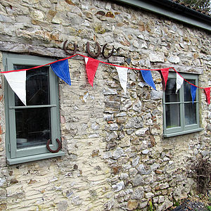 Recycled Sailcloth Great British Bunting - outdoor decorations