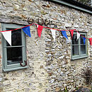 Very british recycled sailcloth bunting