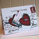 Valentine Card 'Red Hearts'