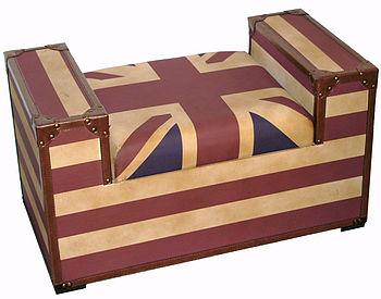 Union Jack Bench Seat