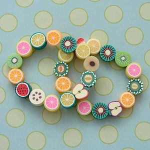 Childrens Fruit And Flower Bracelets - children's jewellery