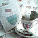 Teacup garden and card 3