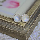 Cup Stud Earrings