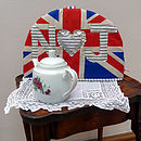 Personalised Union Jack Tea Cosy