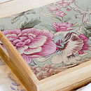 Bamboo Floral Tray