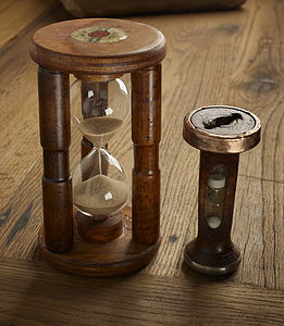 Handmade Wooden Bobbin Tea Break Timer - kitchen accessories