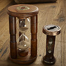 Handmade Wooden Bobbin Tea Break Timer