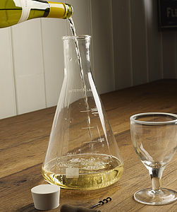 Chemical Flask Decanter