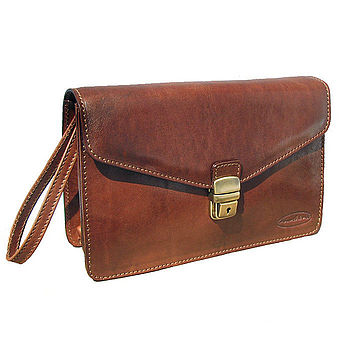 'Small Santino' Mens Clutch Bag