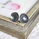 large black cup studs