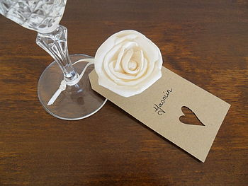 Sola Rose Table Place Cards
