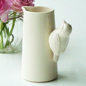 Ceramic Bird Cream Jug