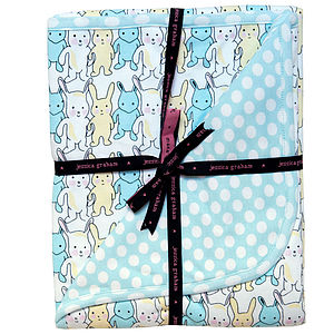 Blue Baby Blanket - baby care