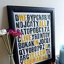 'Yellow Submarine' Word Scramble Print