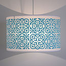 Moroccan Tile Large Pendant Shade