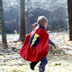 Child's Superhero Cape - pretend play & dressing up
