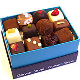 Mixed Box Of Fresh Cream Truffles - food & drink