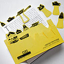 Set Of Ten Architecture Card Page Markers