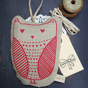 Owl Hanging Lavender Bag
