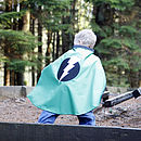 bright green superhero  cape now out of stock