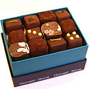 Box Of Milk Chocolate Fresh Cream Truffles