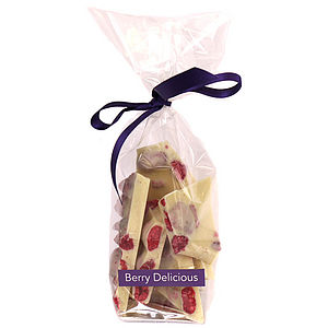 Berry Delicious Chocolate Shards - luxury chocolates