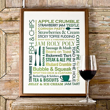 Food Lover's Poster Print