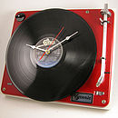 Vintage Bang And Olufsen Record Player Clock