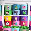 Felt Storage Box Tortoises
