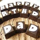Letter And Number Chocolate Blocks