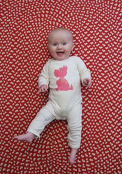Scotty Dog Baby Romper Suit