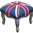 Union Jack Footstool
