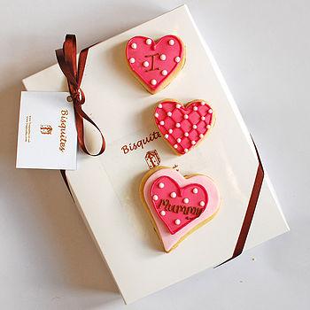 'I Love Mummy' Biscuits