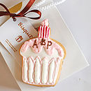 Personalised Wedding Cupcake