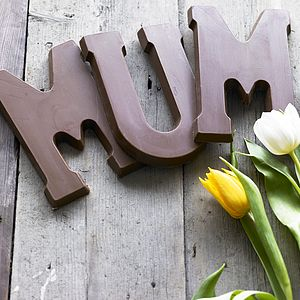 Dutch Chocolate Letter - gifts to eat & drink