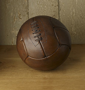 Hand Sewn Leather Football - outdoor toys & games