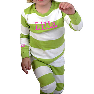 Personalised Children's Pyjamas - clothing