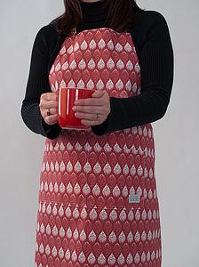 Isabella Apron - kitchen linen