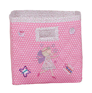 Fairy Applique Storage Bag - soft furnishings & accessories