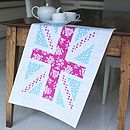 Union Jack Linen Tea Towel