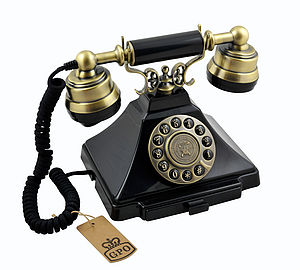 Classic GPO 1938S Duke Telephone - office & study