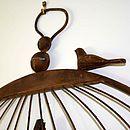 Vintage Style Birdcage Noticeboard Table Plan