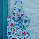 Child's Apron With Baby Mouse