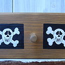 Pirate Peg Rack