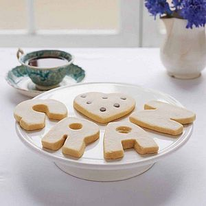 Personalised Shortbread Biscuits Letters