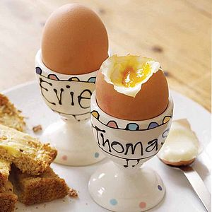Personalised Egg Cup - easter kitchen
