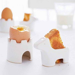 Egg And Soldiers Breakfast Set - gifts for children